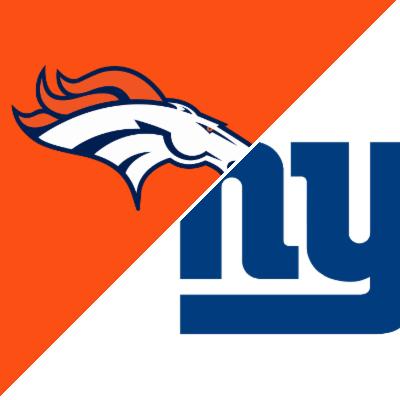Game of the Week:  Broncos/Giants