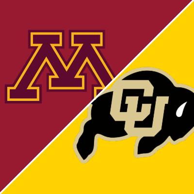 Game of the Week:  Minnesota @ Colorado (Football)